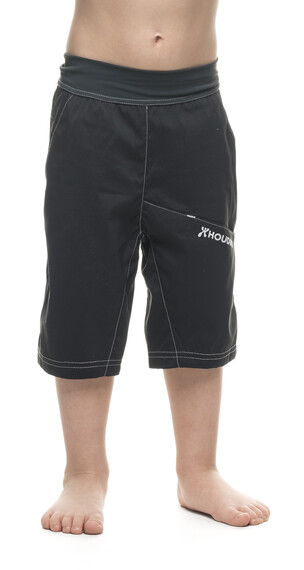Houdini Jr Liquid Trail Shorts Rock Black